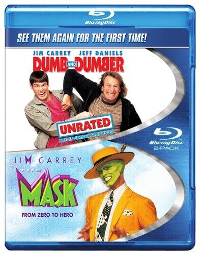 Dumb and Dumber / The Mask (1994) (2 Disc) BLU-RAY NEW