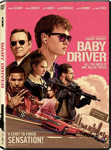 Baby Driver DVD NEW