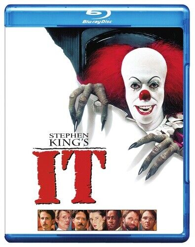 It (1990 Tim Curry) (Stephen King's) BLU-RAY NEW