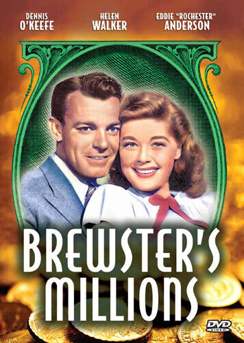 Brewster's Millions (1945 Dennis O'Keefe) DVD NEW