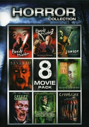 Horror Collection: 8 Movie Pack (2 Disc) DVD NEW