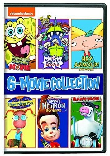 Nickelodeon: 6 Movie Collection (6 Disc) DVD NEW