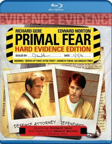 Primal Fear (Hard Evidence Edition) BLU-RAY NEW