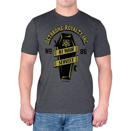 Dethrone At Your Service T-Shirt - Small - Excalibur