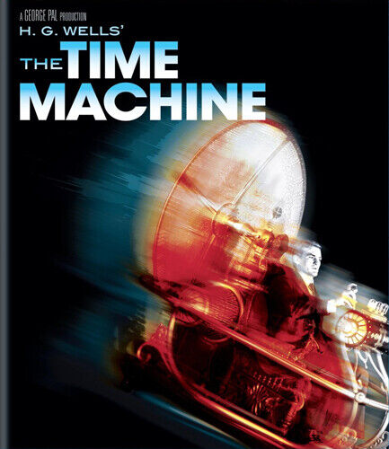The Time Machine (1960 Rod Taylor) BLU-RAY NEW