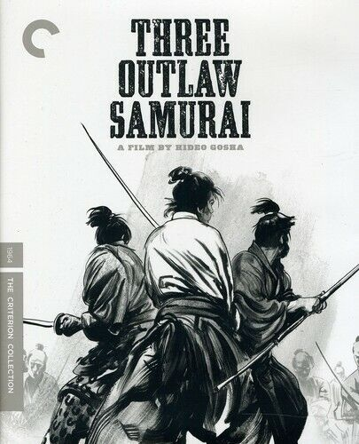 Three Outlaw Samurai (The Criterion Collection) BLU-RAY NEW