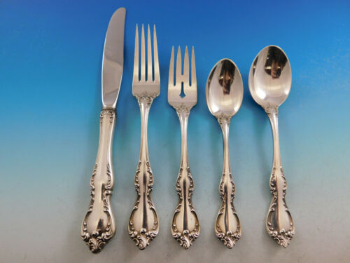Debussy by Towle Sterling Silver Flatware Set for 8 Service 40 pieces
