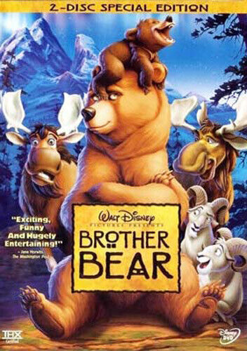 Brother Bear (2 Disc, Special Edition) DVD NEW