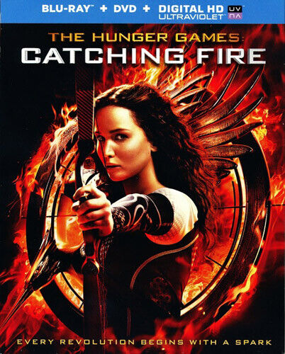 The Hunger Games: Catching Fire (2 Disc, Blu-ray + DVD) BLU-RAY NEW