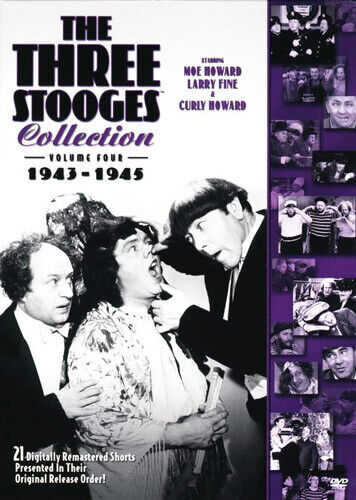 The Three Stooges Collection - Volume 4: 1943-1945 (2 Disc) DVD NEW