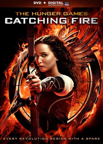 The Hunger Games: Catching Fire DVD NEW