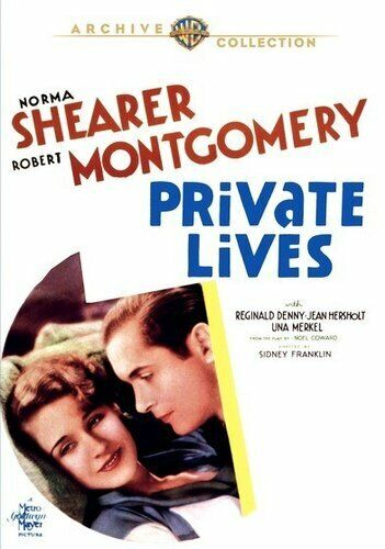 Private Lives (1931 Norma Shearer Robert Montgomery) DVD NEW