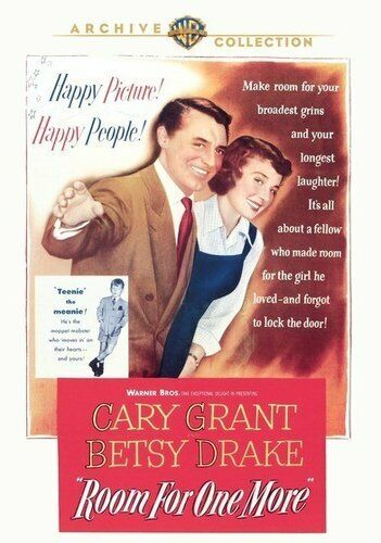 Room for One More (1952 Cary Grant) DVD NEW