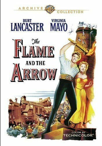 The Flame and the Arrow (1950 Burt Lancaster) DVD NEW