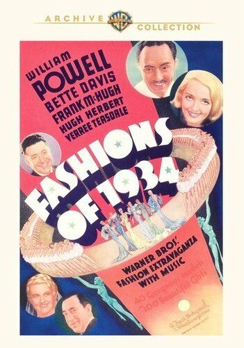 Fashions of 1934 DVD NEW