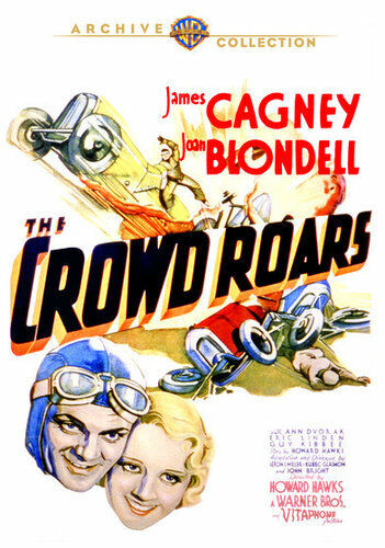 The Crowd Roars (1932 James Cagney) DVD NEW
