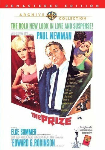 The Prize (1963 Paul Newman) DVD NEW