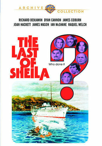 The Last of Sheila (1973) DVD NEW