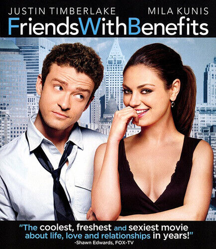 Friends with Benefits BLU-RAY NEW