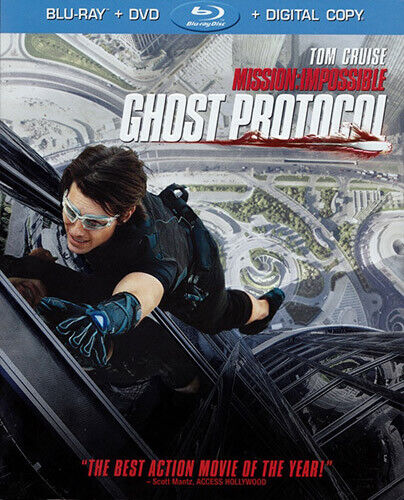 M:i-4 Mission: Impossible 4 - Ghost Protocol (2 Disc, Blu-ray + DVD) BLU-RAY NEW