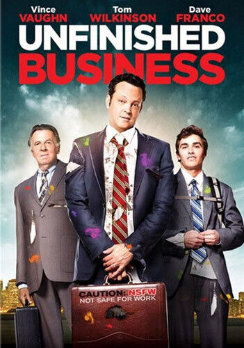 Unfinished Business DVD NEW