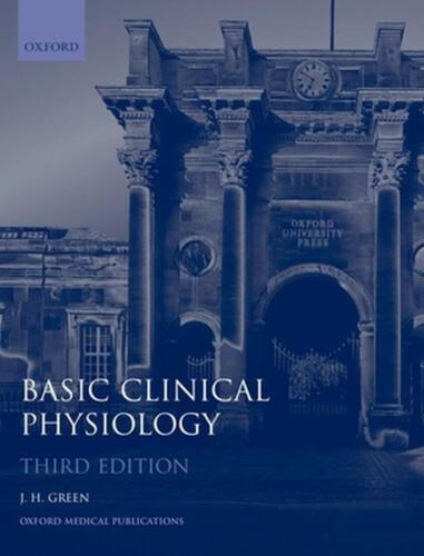 Basic Clinical Physiology by John H. Green (English) Paperback Book Free Shippin