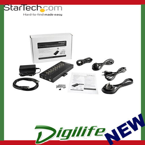 StarTech 8-Port USB to RS-232/422/485 Serial Adapter  15 kV ESD Protection