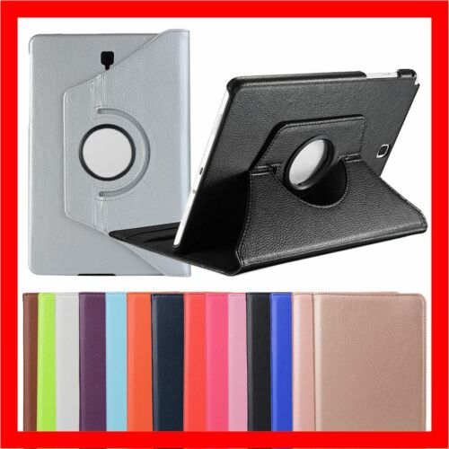 """Leather Flip Case Cover For Samsung Galaxy Tab A S2 S4 10.5"""" 10.1"""" 9.7"""" 8.0"""" 7.0"""