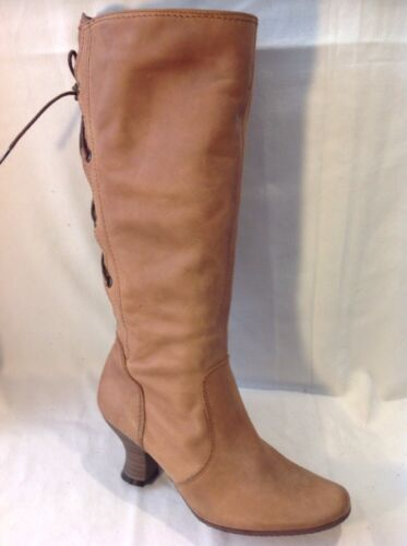 Ravel Brown Mid Calf Leather Boots Size 36