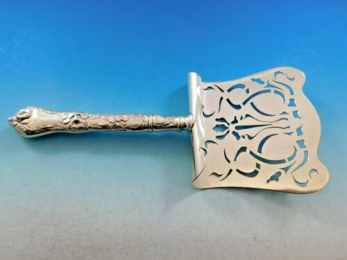 Les Cinq Fleurs by Reed & Barton Sterling Silver Asparagus Server Hooded Pierced