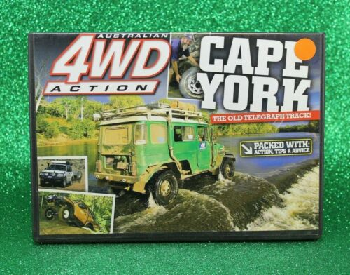 Australian 4WD Action (DVD) Cape York The Old Telegraph Track 🥳All Regions #141