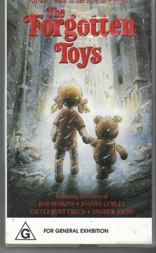 THE FORGOTTEN TOYS   (Children's Pal Vhs Video)  near new - rare