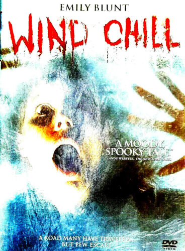 Wind Chill DVD NEW/ UNSEALED US IMPORT R1 EMILY BLUNT SUPERNATURAL HORROR