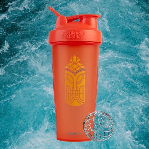 Blender Bottle Special Edition 28 oz Shaker Mixer Cup with Loop Top - Tiki <br/> Exclusive Seller of Blender Bottle on eBay