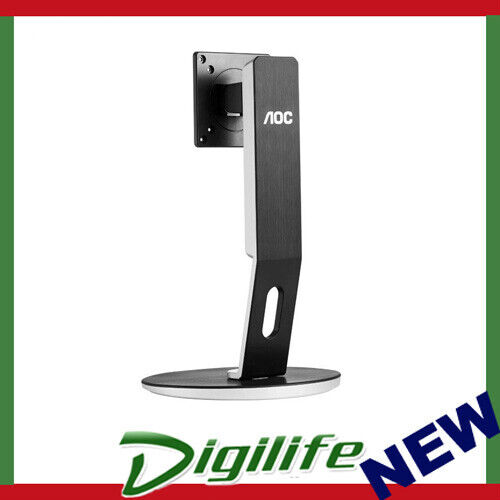 """AOC H271 4 Way Height Adjustable Stand VESA 75/100mm Support Up to 27"""" 3.8-4.8k"""