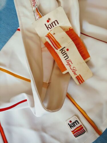 SKIRT TENNIS  woman vintage 80's KIM top line tg.46-M  Made in Italy  New  RARE