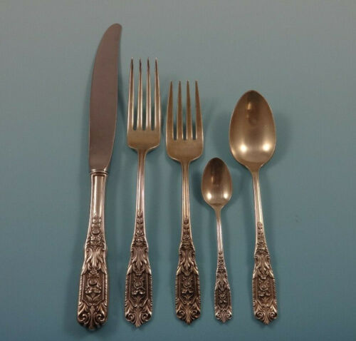 Milburn Rose by Westmorland Sterling Silver Flatware Set 12 Service 68 Pieces