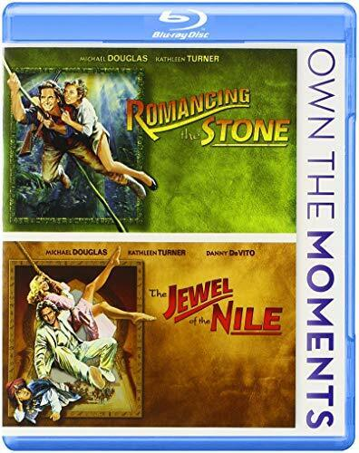 Romancing the Stone / The Jewel of the Nile (2 Disc) BLU-RAY NEW