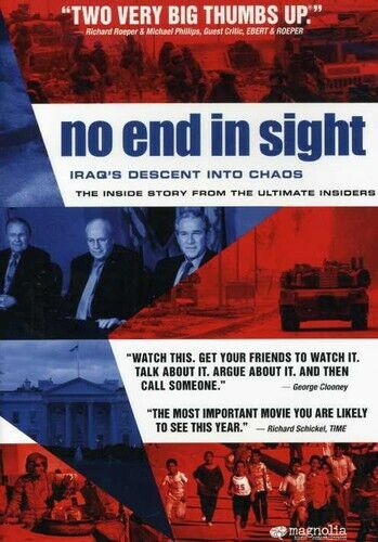 No End in Sight DVD NEW