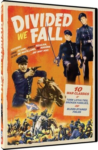 Divided We Fall: 10 Civil War Movie Collection (3 Disc) DVD NEW