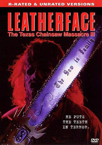 Leatherface: The Texas Chainsaw Massacre 3 (Unrated Version) DVD NEW