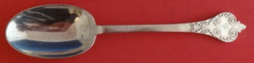 William and Mary by Thomas Bradbury and Sons Sterling Silver Place Soup Spoon