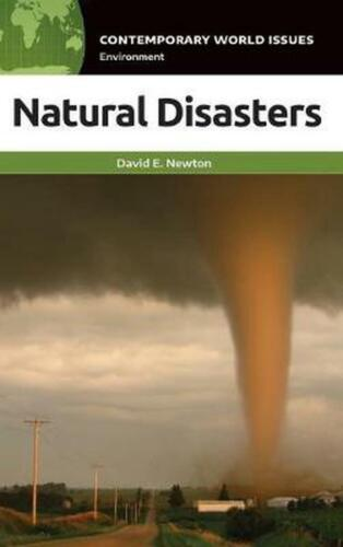 Natural Disasters by David E. Newton Hardcover Book Free Shipping!