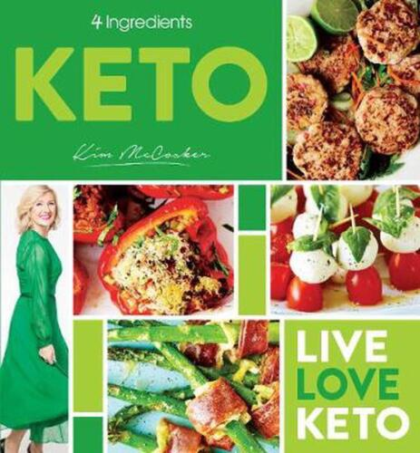 4 Ingredients Keto by Kim McCosker Paperback Book Free Shipping!