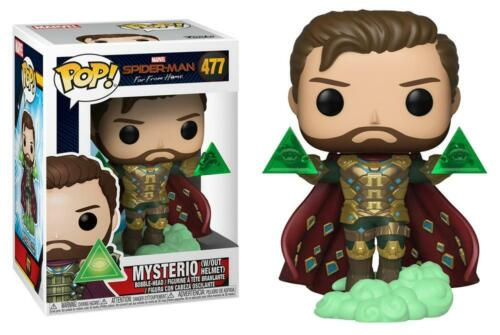 Spider-Man: Far From Home - Mysterio Unmasked Pop! Vinyl - FunKo Free Shipping!