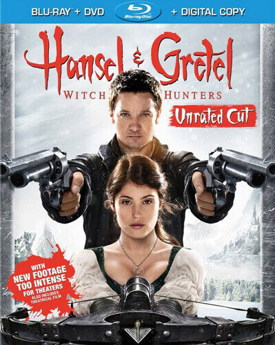 Hansel and Gretel: Witch Hunters (2 Disc Blu-ray + DVD, Unrated Cut) BLU-RAY NEW