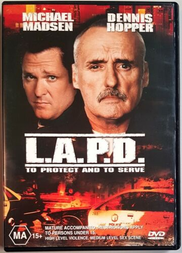 L.A.P.D. - To Protect and To Serve (Dennis Hopper) DVD (Region 4)