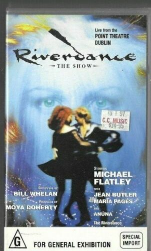 RIVERDANCE : The Show  (Pal Vhs Video)  near new  (special import)