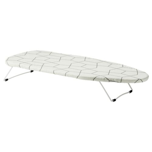 JALL MINI IRON IRONING BOARD PORTABLE TABLE TOP CLOTHES 2019 Stock