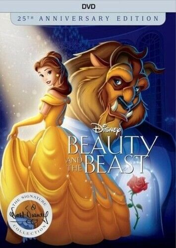 Beauty and the Beast (1991 Disney) (Anniversary, Signature Collection) DVD NEW